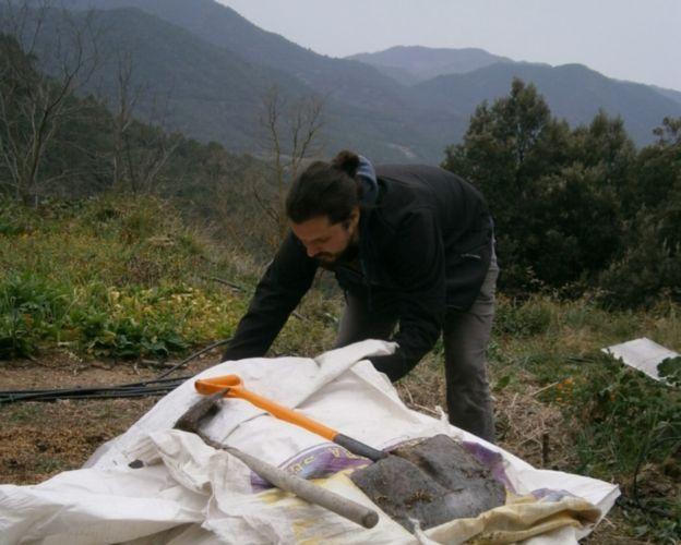 bokashi, cubierta de protección