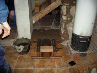 Caja De Ceniza Y Base De La Estufa